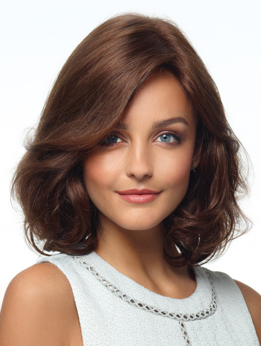 "13"" Layered Hairstyles Human Hair Wigs"