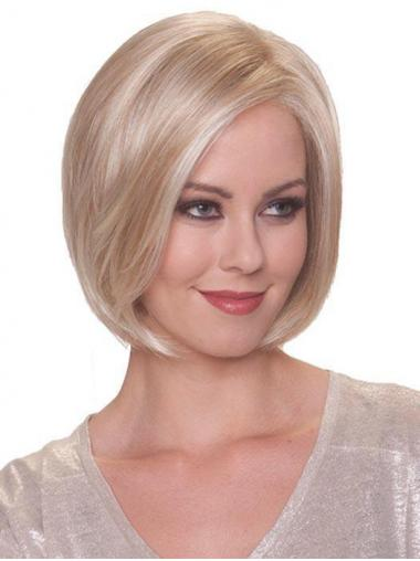 Blonde Online Straight Short Synthetic Bob Wigs