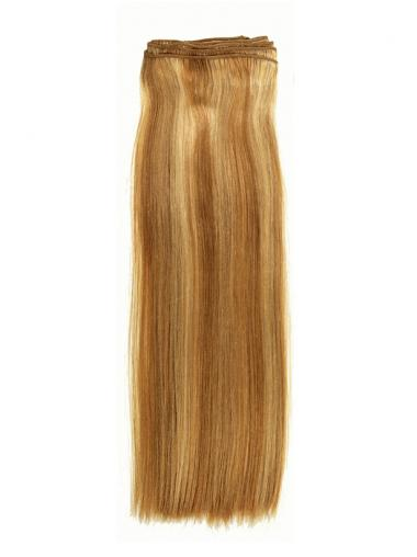 Blonde Straight Style Tape in Hair Extensions