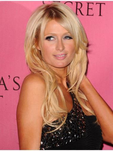 Blonde Layered Wavy Suitable Paris Hilton wigs
