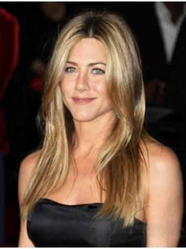 Straight Blonde Convenient Jennifer Aniston wigs