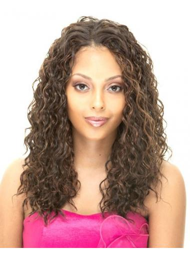 Blonde Brazilian Remy Hair Curly Incredible African American Wigs