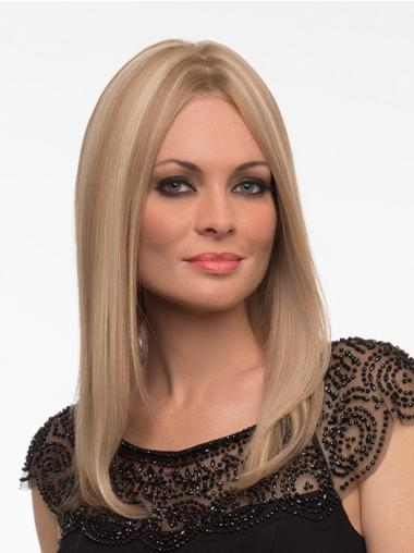 Straight Blonde Cheapest Full Lace Wigs