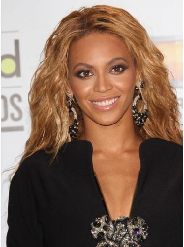 Brown Brazilian Remy Hair Wavy Natural Beyonce wigs