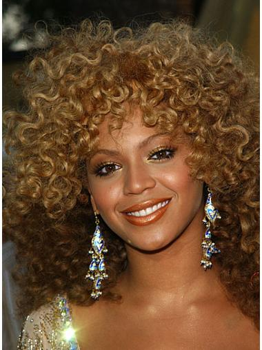 Blonde Afro Curly Style Beyonce wigs