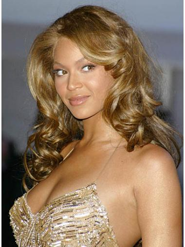 Blonde Brazilian Remy Hair Curly Gorgeous Beyonce wigs
