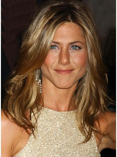 Blonde Wavy Suitable Jennifer Aniston wigs