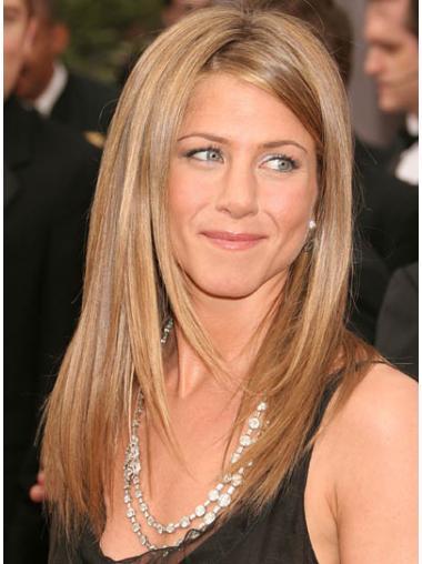 Straight Blonde Layered Best Jennifer Aniston wigs