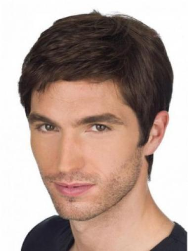 Auburn Straight Popular Men Wigs