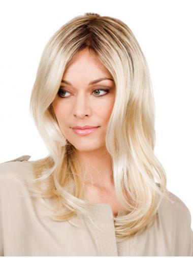 Blonde Wavy Online Glueless Wigs