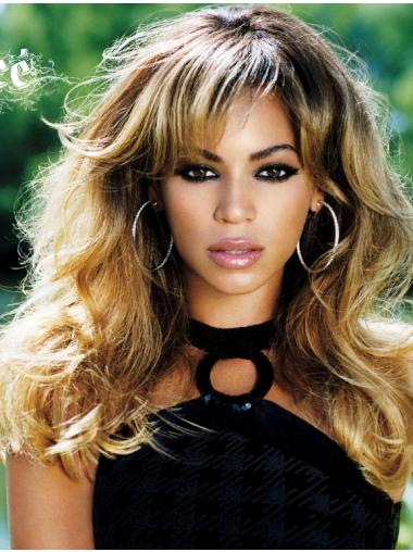 Wavy Blonde With Bangs Beautiful Beyonce wigs