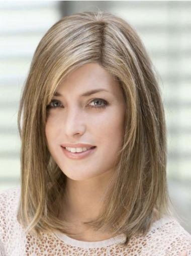 Straight Brown With Bangs Best Celebrity Wigs