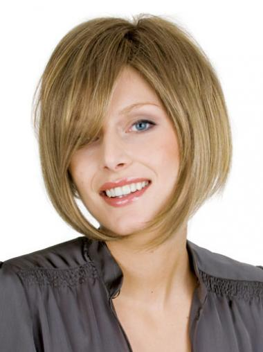 Blonde Bobs Straight Modern Short Wigs