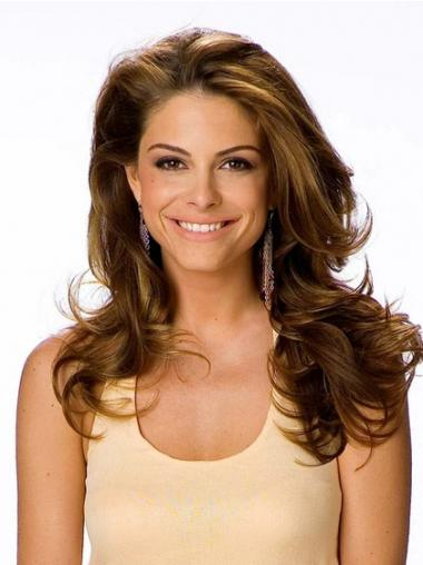 Style Brown Lace Front Wavy Long Wigs