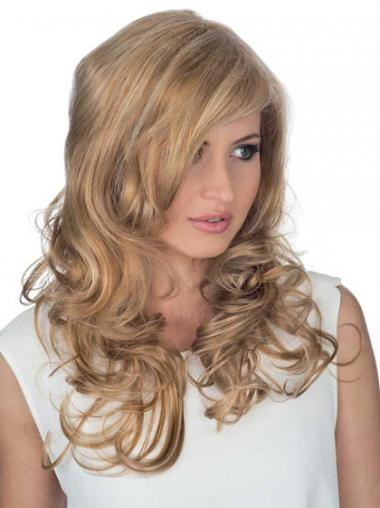 Blonde Layered Curly Top Celebrity Wigs