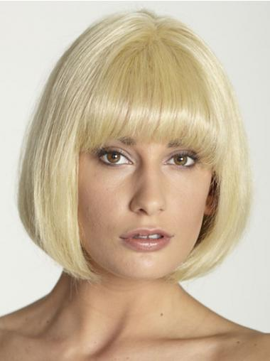 Blonde Bobs Straight New Short Wigs