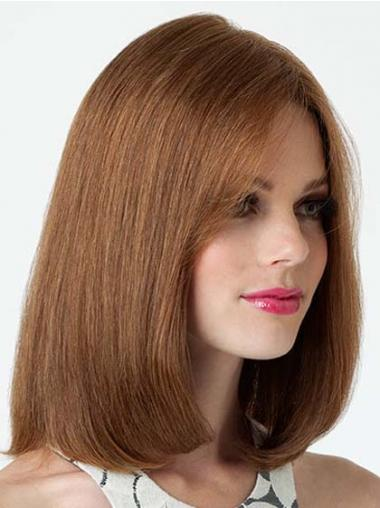 Bobs Straight Brown Fashionable Medium Wigs