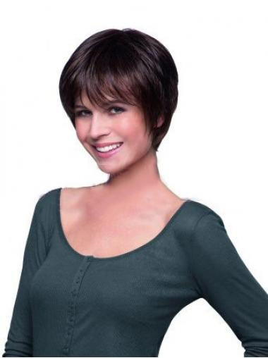 Boycuts Auburn Straight Ideal Celebrity Wigs