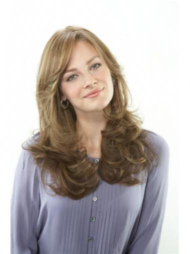 Brown Lace Front Wavy Cheapest Long Wigs