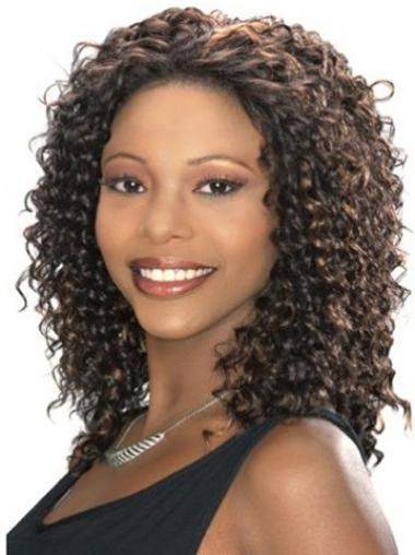 Brown Afro Curly Incredible Celebrity Wigs