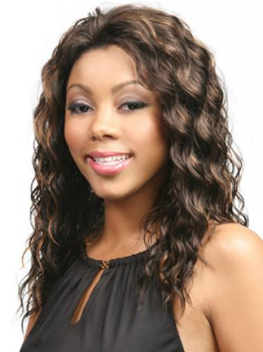 Brown Without Bangs Wavy Fabulous Glueless Lace Front Wigs
