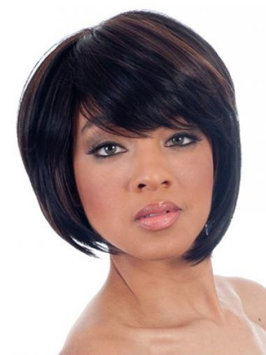 Black Bobs Straight Online African American Wigs