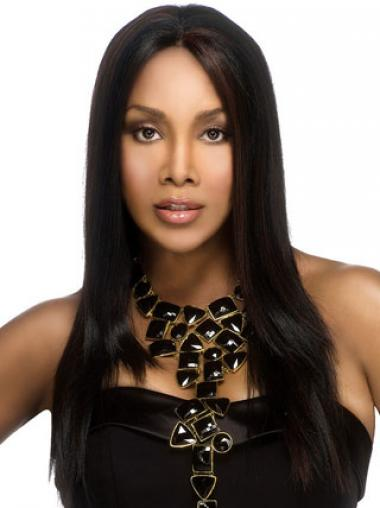 Black Without Bangs Straight Popular African American Wigs