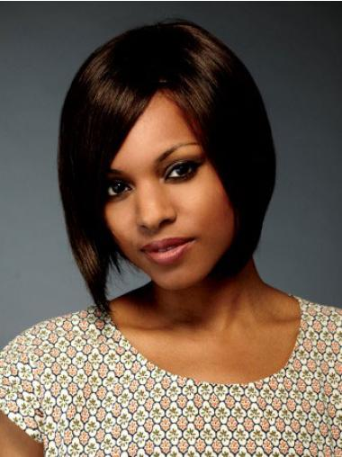 Brown Bobs Straight Popular African American Wigs