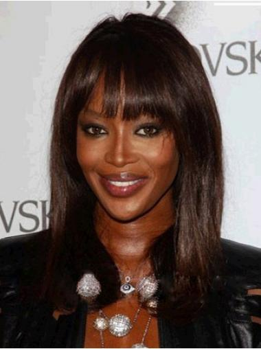 With Bangs Auburn Straight Hairstyles African American Wigs