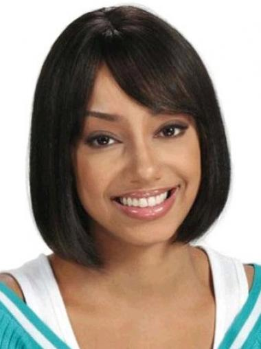 Black Bobs Straight Perfect African American Wigs