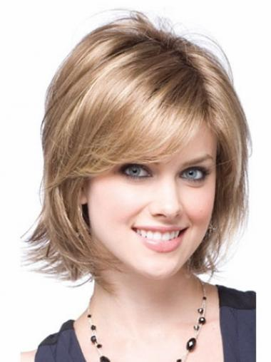 Amazing Blonde Layered Wavy Synthetic Wigs