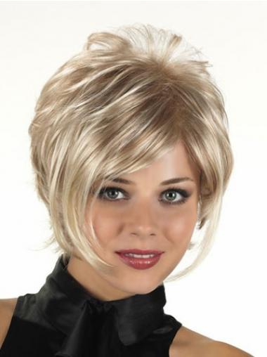 Blonde Layered Curly Perfect Synthetic Wigs