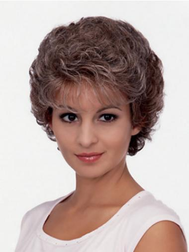 Brown Classic Curly Discount Classic Wigs
