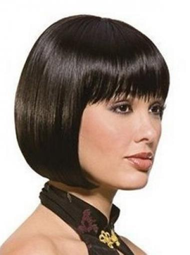 Black Bobs Straight Gorgeous Synthetic Wigs