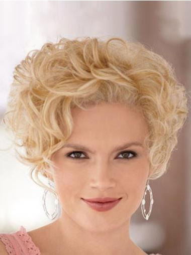 Blonde Classic Curly Amazing Short Wigs