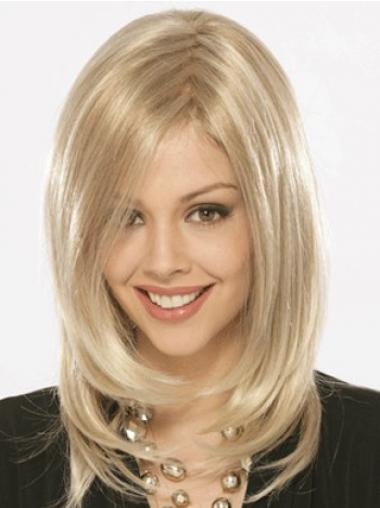 Straight Blonde Hairstyles Synthetic Wigs