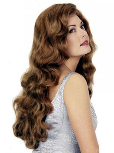Wavy Auburn Layered Cheap Synthetic Wigs