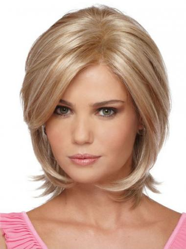Straight Blonde Bobs Best Synthetic Wigs