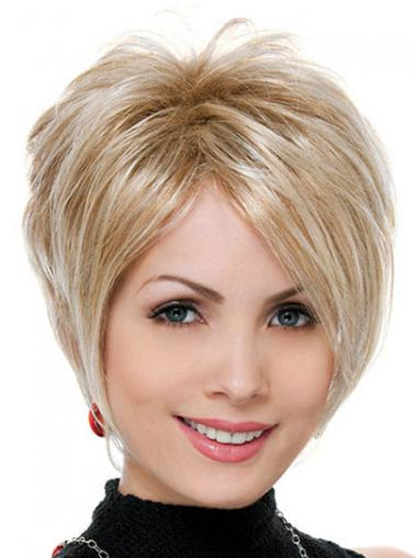 Blonde Synthetic Straight Online Synthetic Wigs