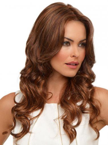 Auburn Wavy Synthetic Designed Long Wigs