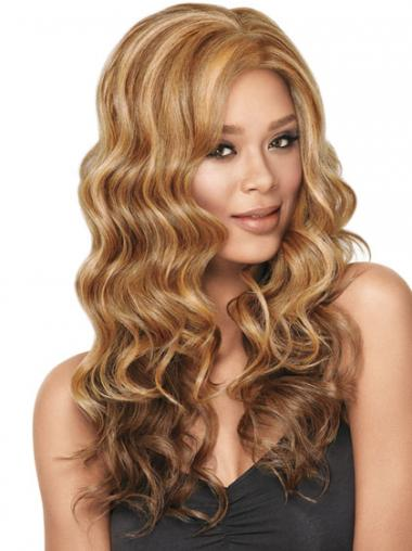 Blonde Wavy Designed Synthetic Wigs