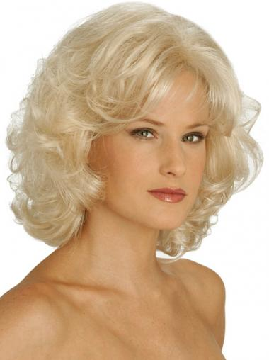 Blonde Classic Curly Perfect Classic Wigs