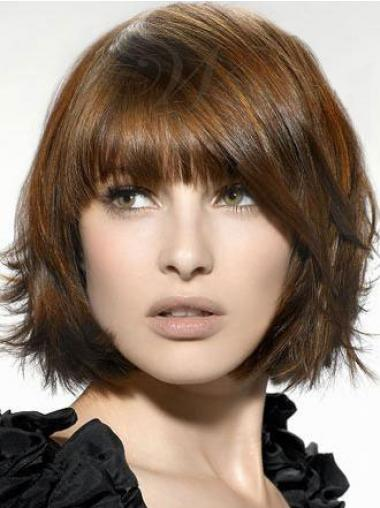Synthetic Bobs Straight Incredible Medium Wigs