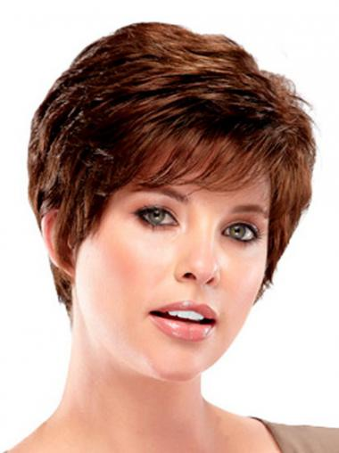 Boycuts Auburn Wavy Exquisite Synthetic Wigs