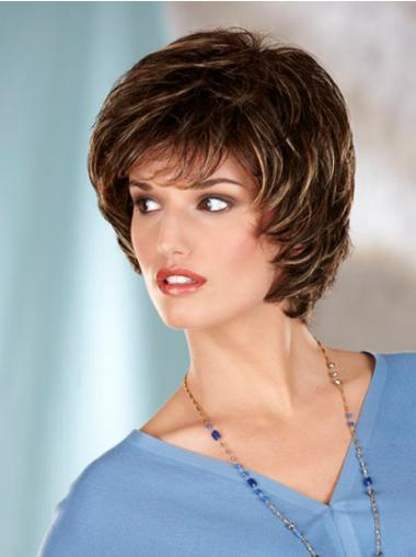 Brown Bobs Wavy Good Classic Wigs