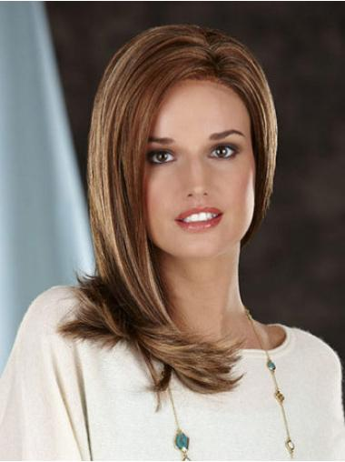 Amazing Straight Brown Long Wigs