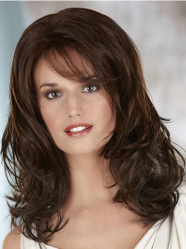 Brown Lace Front Wavy Discount Classic Wigs