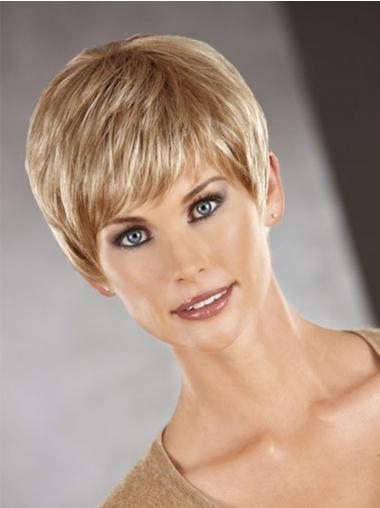 Boycuts Auburn Straight Exquisite Synthetic Wigs