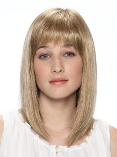 Blonde Bobs Synthetic Great Medium Wigs