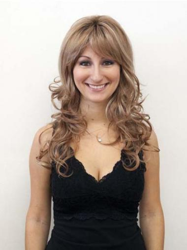 Blonde Layered Wavy Exquisite Long Wigs